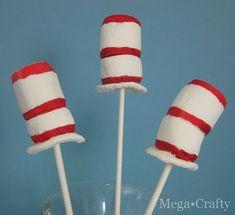 Dr Seuss Marshmallow Hats
