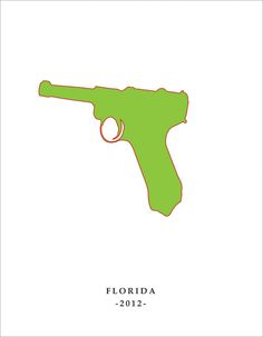 """Florida 2012"" Recent History Print W: 21 H: 27"
