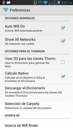 Wifi password recovery - screenshot