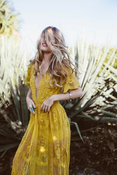 Goldmorning is an online women's clothing boutique that carries affordable and stylish pieces. Sexy Dresses, Casual Dresses, Casual Outfits, Boutique Maxi Dresses, Romantic Lace, Yellow Lace, Dress Me Up, Passion For Fashion, Dress To Impress