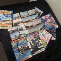 Aviation Lot William Halton USAF Yankee Lady P-51 Photos Programs Warbirds Mags