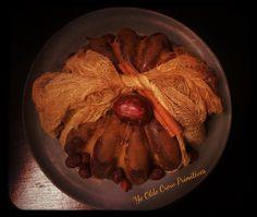 Wax bunt cake By: Ye Olde Crow Primitives