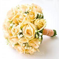Brautstrauß Pfirsich