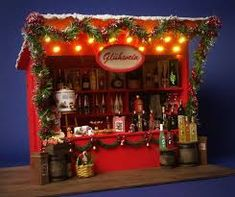 Image result for mini christmas diorama