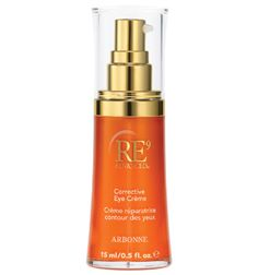 This RE9 advanced corrective eye cream supports collagen,reduces puffiness and reduces dark circles.  I've been using it for a few months and it makes a big difference.