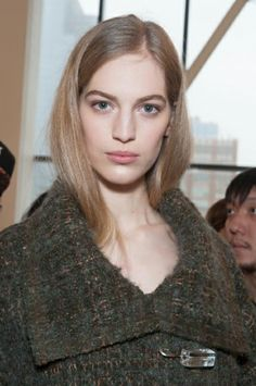 NYFW Hair: Soft Tresses by Redken at Calvin Klein F/W 2014