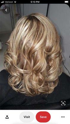 Hair Styles 2016, Medium Hair Styles, Short Hair Styles, Pretty Hair Color, Hair Color And Cut, Fifties Hair, Mother Of The Bride Hair, Haircuts For Medium Hair, Blonde Hair With Highlights