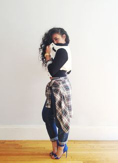 Dope outfit love her sweater