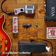 Jamming out got you feeling active and strong? Show us your gear! Use the hashtag #LookBetterFeelBetter on Twitter, Instagram and Facebook to win awesome prizes from Forever!
