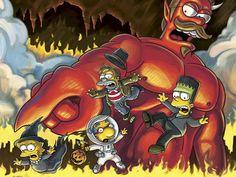 Animes: Los Simpsons - La Casita del Terror!!! [Mega]