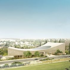 National Library of Israel by Herzog & de Meuron cultural architecture news