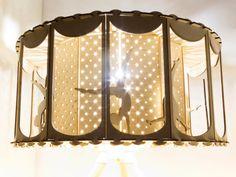 BRICOLAJE regalo Idea circo lámpara para niño por SmagaProjektanci