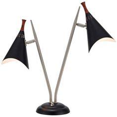 The perfect lamp for the Studio: Draper Mid-Century Modern Desk Lamp