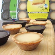 Hail Merry Miracle Tarts - MInis in Lemon and Chocolate (Raw, Vegan, Dairy-Free, 100 Calories Each) - New online and at Costco Stores