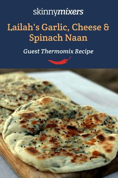 Lailah's Garlic, Cheese & Spinach Naan has been the most popular Thermomix recipe in Skinnymixers for years and for good reason!