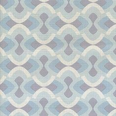 Original vintage retro geometric wallpaper. Minimalist style. 1960s 1970s. Measures approximately 16 feet in length and 21 inches wide. key