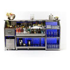 Bar setup 20 | aQ | Pinterest | Bar, Bar counter and Restaurant design