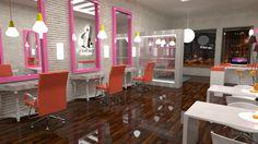 """""""Barbara - Beauty & Style"""" - #Diseño, #logotipo y aplicación #gráfica by FreddyMaldonado. Brand&Design  #corporate #identity   www.freddymaldonado.com #Design& #Branding - #Valparaíso"""