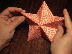 zencrafting: Origami Star Tutorial