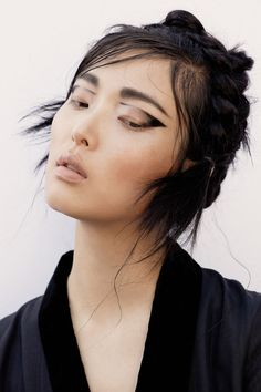 Flaunt Magazine's Sung Hee Kim Feature is Lensed by Photographer Yu Tsai #photography trendhunter.com