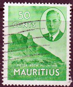 Mauritius 1950 SG 285 Pieter Both Mountain Fine Mint SG 286 Scott 245 Other British Empire Stamps Here
