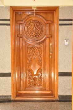Interior door design asian style living room by homify asian plywood Main Entrance Door Design, Wooden Front Door Design, Double Door Design, Front Design, Pooja Room Door Design, Door Design Interior, Single Main Door Designs, Modern Wooden Doors, Wood Doors