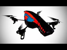 This Orange/blue colored drone, Parrot AR.Drone Quadricopter can be controlled by iPod touch, iPhone, iPad, and Android Devices. It can live stream HD videos to your smartphone/tablet and also record them using AR. Gopro Drone, Drone Quadcopter, Drone Remote, Spy Drone, Ipad, Ipod Touch, Wi Fi, Parrot Ar Drone, Drone For Sale