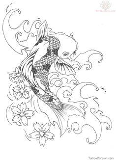 Koi Fish Tattoo Design Samples picture 9539