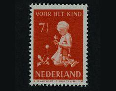 kinderzegel door Dirk van Gelder