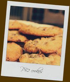 NINE + SIXTEEN: My Sweet Savannah's PB2 Chocolate Chip Cookies
