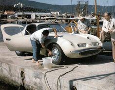BMW 507 par Raymond Loewy - Réalisée par Pichon-Parat