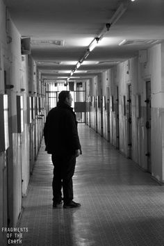 "An ex-prisoner stands in the corridor of the Hohenschönhausen prison in the former East Berlin, a facility the Stasi kept secret from the Western world.   ""It was 1985 and I was 18. I felt at that moment, as though the regime would last my whole life,"" he says, ""and I did not want to live my life behind a wall"".  ""Some people didn't mind living under the regime. I was not one of those people. They knew that well. They were very good psychologists.""  www.fragmentsoftheearth.com"