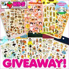Kawaii Depot Stickers Giveaway !!! http://www.supercutekawaii.com/2015/02/kawaii-depot-stickers-giveaway/