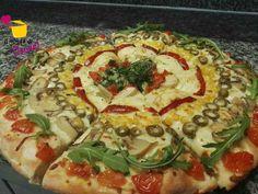La pizza: combinazione fantastica di sapori. Chi non la ama?Ecco una ricetta per una versione più digeribile, gustosa.. successo garantito!