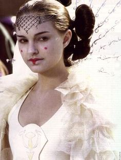 Queen Padme Amidala (played by Nathalie Portman) in Star Wars I