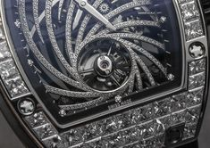 """Richard Mille RM 51-02 Tourbillon Diamond Twister $900,000+ Watch For Women Hands-On - by Ariel Adams - Diamonds AND a tourbillon?  Did we mention diamonds? More at: aBlogtoWatch.com """"There are dozens of ways to segment the tastes of watch lovers, and one is to draw a line between people who appreciate timepieces with the addition of precious stones such as diamonds and those who simply do not. There is no right or wrong answer..."""""""
