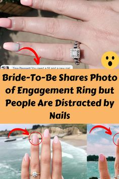 Bride-To-Be Shares Photo of Engagement Ring but People Are Distracted by Nails Beautiful S, Beautiful Homes, Beauty Forever, Daily Funny, Weird World, Hollywood Celebrities, Weird Facts, Cool Photos, How To Remove