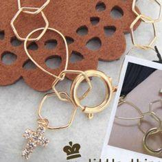 Golden Bracelet with Shiny Cross Pendant  #0, #Accessories, #Bracelet, #Fashion, #Httpwwwyesstylecomeninfohtmlpid1011936545, #MyLittleThing, #YesStylecom