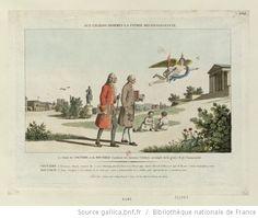 Aux grands hommes la patrie reconnoissante : le Génie de Voltaire et de Rousseau conduisit ces écrivains célèbres au temple de la gloire & de l'immortalité... : http://gallica.bnf.fr/ark:/12148/btv1b6948008r/f1.highres
