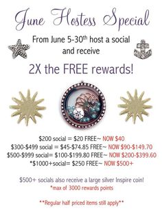 Schedule your June Social with me!  Email margaritah.shd@gmail.com!!  Hurry, only a few available dates left!!!