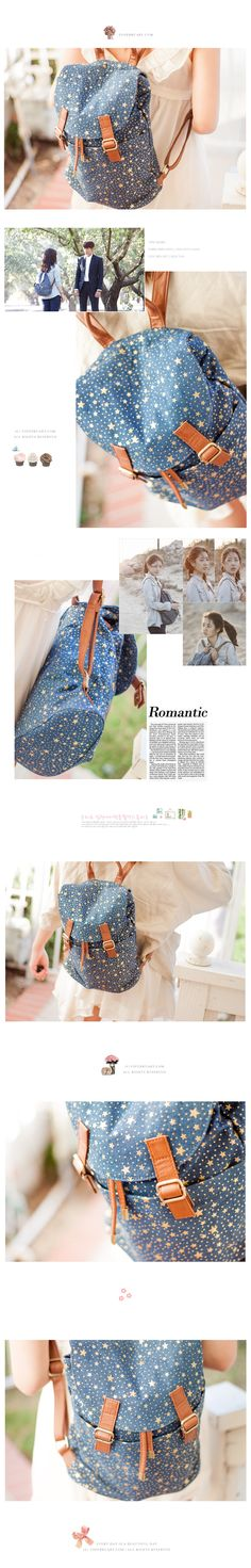 The Heirs Park Shin Hye Backpack. Stars! I want this bag so badly!