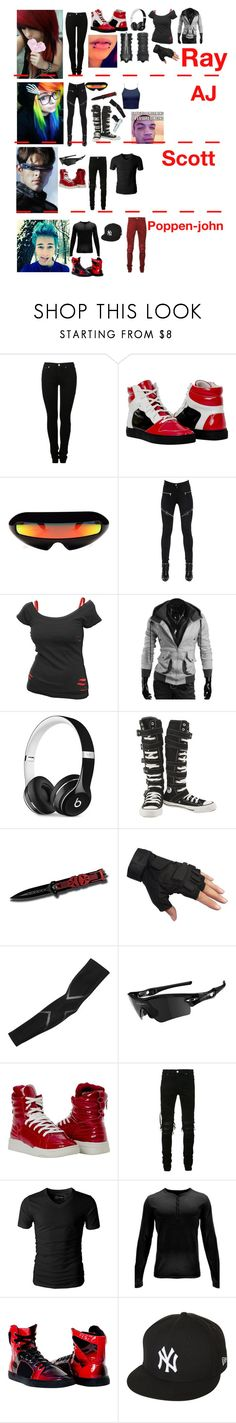 """""""I'll make Dytto and fik-shun"""" by ironkyle ❤ liked on Polyvore featuring MM6 Maison Margiela, Givenchy, Beats by Dr. Dre, Converse, 2XU, Oakley, AMIRI, Spyder and New Era"""