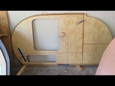 Teardrop Trailer Build - Completing the Side Wall - YouTube