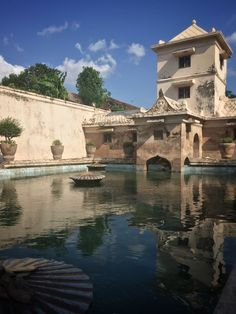 Taman Sari Water Castle, also known as Taman Sari, is the site of a former royal garden of the Sultanate of Yogyakarta