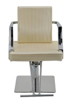 d element spa salon styling chair hydraulic pump chrome modern white