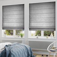 Bring a touch of sophistication into your home without the price tag with the Dupioni Faux Silk Platinum roman blind. Blinds For You, Blinds For Windows, Windows And Doors, Window Coverings, Window Treatments, Blinds Online, Loft, Roman Blinds, Other Rooms