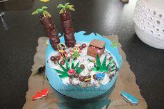 gâteau anniversaire île au trésor pirate