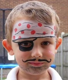 Fun Halloween Face Painting. Cool Face Painting Ideas For Kids, which transform the faces of little ones without requiring professional quality painting skills. http://hative.com/cool-face-painting-ideas-for-kids/