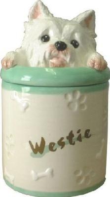 West Highland Terrier Cookie Jar