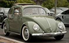 1955 Volkswagen Deluxe Sunroof Sedan, RH drive - To Die For ! My Dream Car, Dream Cars, Vw Classic, Convertible, Vw Vintage, Pt Cruiser, Vw Cars, Cars And Coffee, Buggy